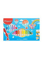 Maped 18-Piece Color'Peps Jumbo Felt Tip Colour Pen Set, Multicolour