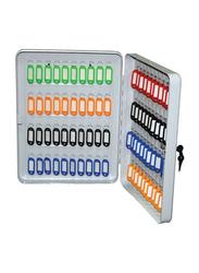 Partner 80-Hook Key Box, Grey