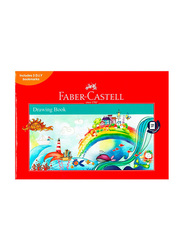 Faber-Castell Drawing Book, A4 Size, White