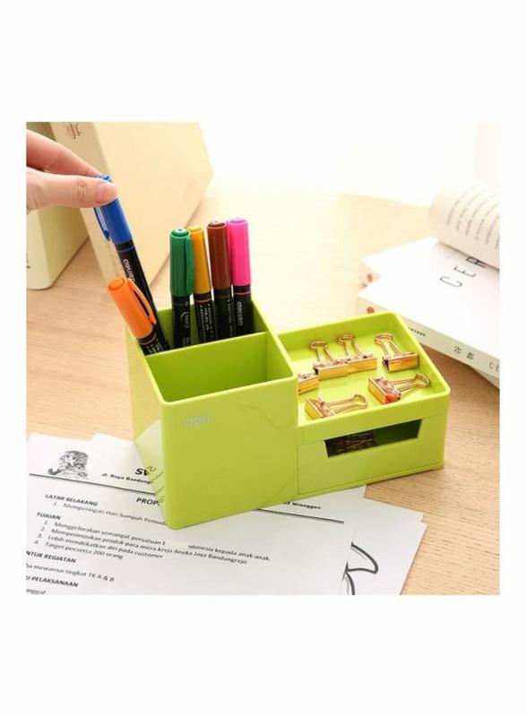 Deli Desk Organizer, Green
