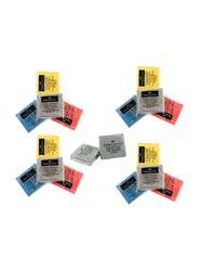 Faber-Castell 18-Piece Kneadable Art Eraser Set, Red/Yellow/Blue