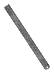 Partner Measuring Steel Ruler, Grey