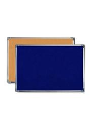 FOS Presentation Cork Board, 60 x 90cm, Blue