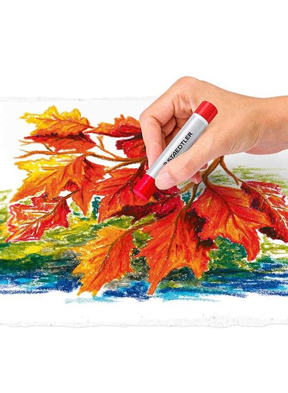 Staedtler Design Journey Oil Pastel Colour Set, 24 Pieces, Multicolour
