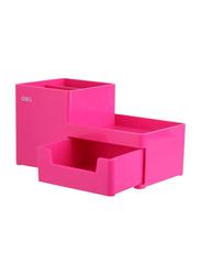 Deli Desk Organizer, Pink