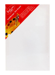 Deluxe Amt A4 Stretched Canvas Drawing Board, White