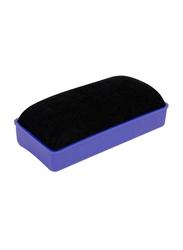Deli Magnetic White Board Duster, Blue/Black