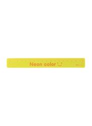 Deli Clap-Clap Bracelet Ruler, Yellow