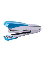 Deli Desk Stapler, Silver/Blue