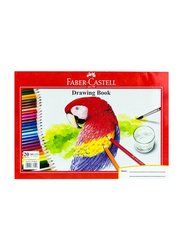 Faber-Castell Drawing Book, A4 Size
