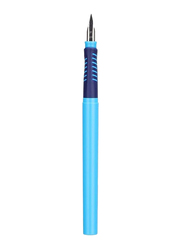 Deli Foundation Pen with Ink Cartridge, Blue