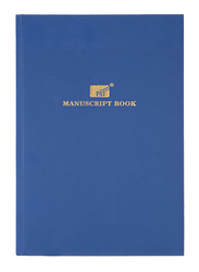 PSI Ruled Manuscript Book, 150 Pages, A4 Size, Blue