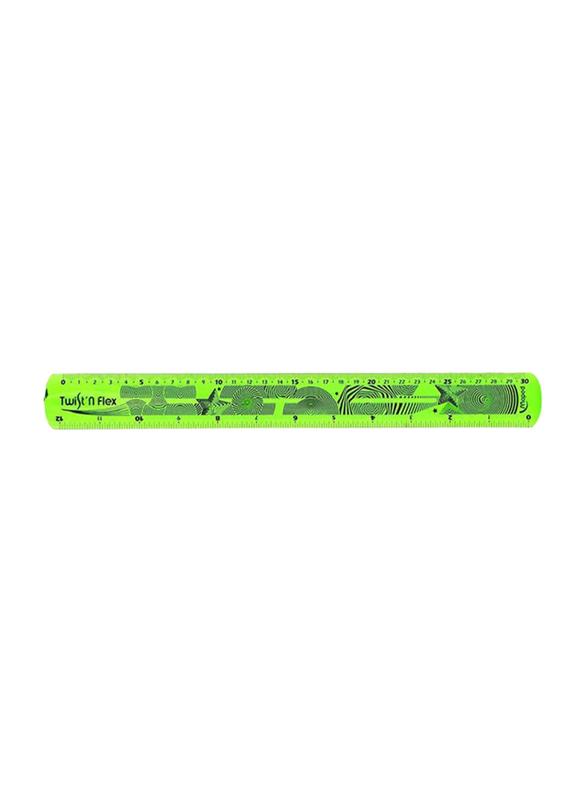 Maped Flexible Ruler, 30cm, Green