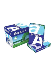 Double A Premium 80GSM Printer Paper, 2500 Sheets, A4 Size, White