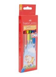 Faber-Castell 6-Piece Jumbo Color Pencil Set, Multicolor
