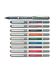 Uniball 10-Piece Eye Fine Rollerball Pen Set, Multicolour
