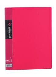 Deli Rio Display Book, 20 Pockets, Pink