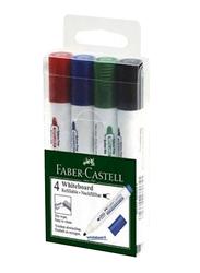 Faber-Castell 4-Piece Marker Peps White Board Set, Multicolour
