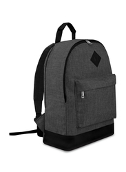 Giftology Casual Daypacks Schoolbag Unisex, Grey/Black