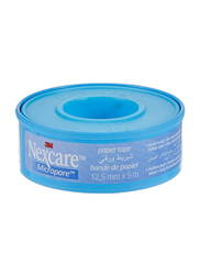 3M Nexcare Micropore Paper Tape, 12.5mm x 5 Meter, 1 Piece