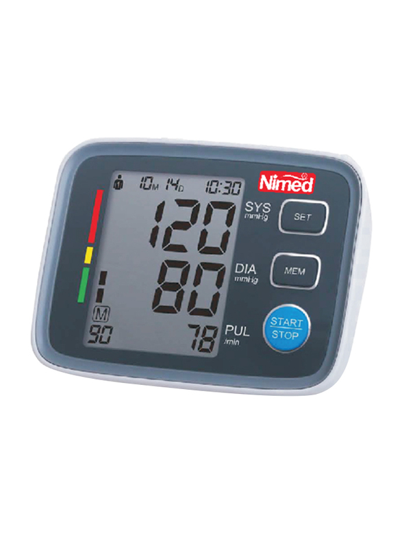 Nimed Fully Automatic Blood Pressure Monitor, BP 608, Black