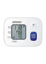 Omron RS2 Wrist Blood Pressure Monitor, White