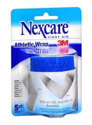 3M Nexcare Athletic Wrap Roll, 5 Yard, Blue