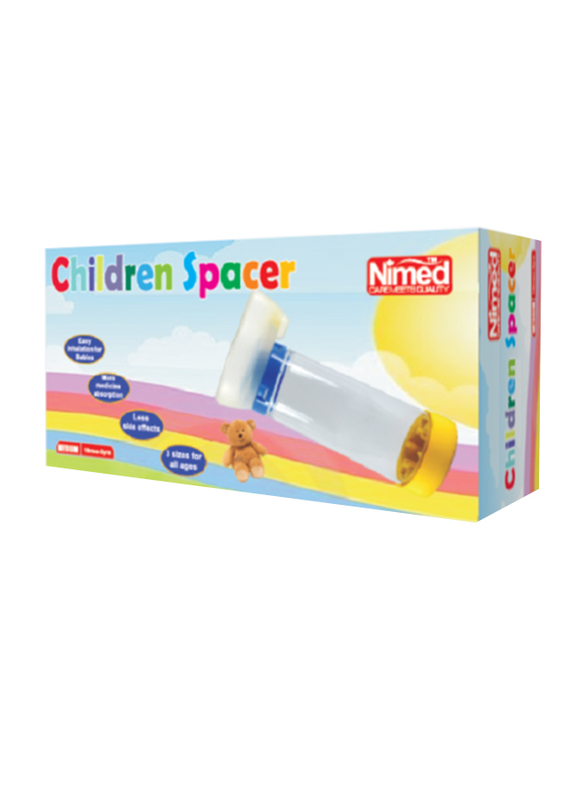 Nimed Spacer Infant Nebulizer, Small, S-729, Multicolor
