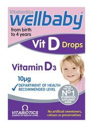 Vitabiotics Wellbaby Vitamin D3 Drops, 0 to 4 Years, 30ml