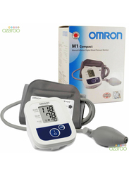 Omron M1 Manual Inflation Digital Blood Pressure Monitor, White