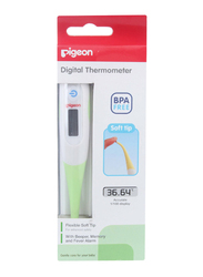 Pigeon Digital Thermometer for Babies, Green, 1 Piece