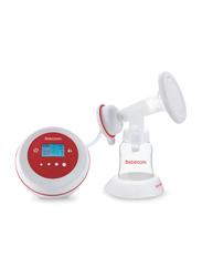 Bebecom Electric Breast Pump, BQ002, Red/White