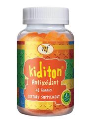Natural Fervor Kiditon Antioxidant Dietary Supplement, 60 Gummies
