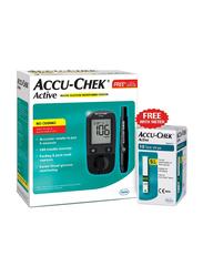 Accu-Chek Active Blood Glucose Monitor, Black