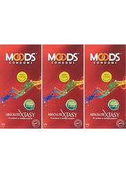 Moods Absolute Xtasy Condom, 12 Pieces