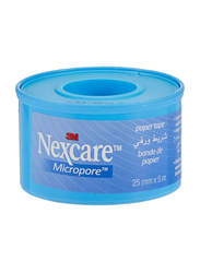 3M Nexcare Micropore Paper Tape, 25mm x 5 Meter, 1 Piece