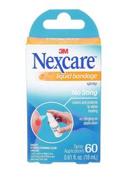 3M Nexcare No Sting Liquid Bandage, 18ml