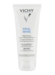 Vichy Ideal White Deep Cleansing Foam, 100ml
