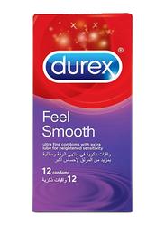 Durex Feel Smooth Elite Condom, 12 Pieces