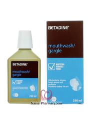 Betadine Mouthwash or Gargle, 250ml