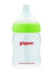 Pigeon Anti-Colic Anti-Colic Wide-Neck Baby Feeding Bottle, 160ml, Green
