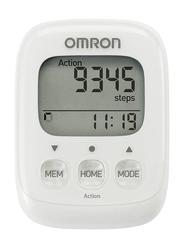 Omron HJ-325-EW Walking Style IV White Step Counter
