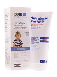 ISDIN 200ml Nutratopic Pro-AMP Emollient Cream Atopic Skin for Kids