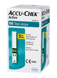 Accu-Chek Active Test Strips, 50 Strips, White
