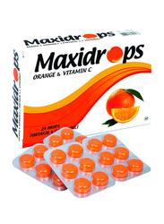 Maxidrops Orange and Vitamin C Mouth Drops, 24 Drops