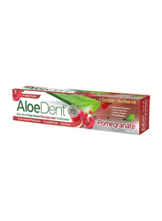 AloeDent Aloe Vera Triple Action Pomegranate Toothpaste, 100ml