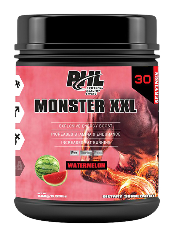 PHL Monster XXL 30 Servings Powder, 240g, Watermelon
