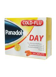 GSK Panadol Cold + Flu Day, 24 Tablets