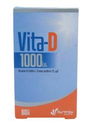 Synergy Vitamin D 1000IU, 60 Tablets