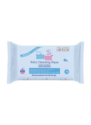 Sebamed 72-Piece Baby Wet Wipes for Kids
